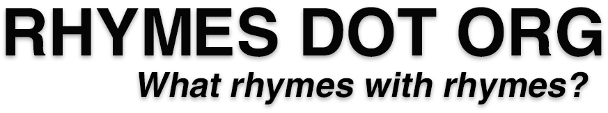Rhymes.org